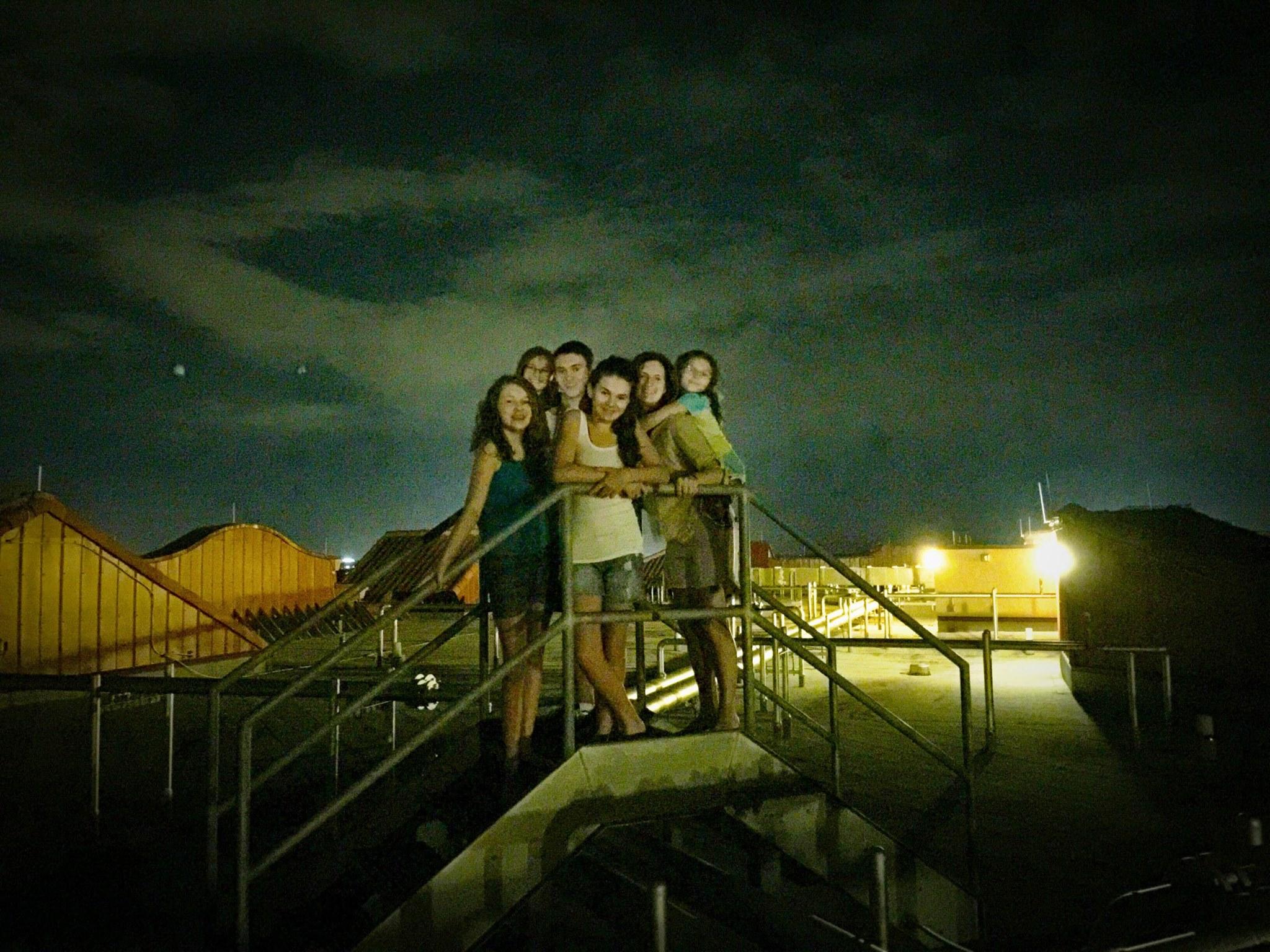 Disney Rooftop Fireworks