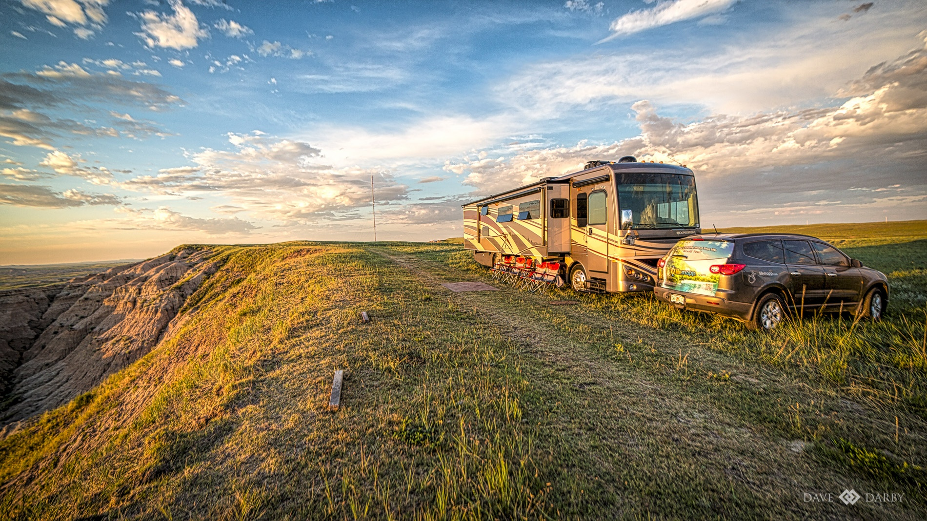 Wild Camping in the Badlands