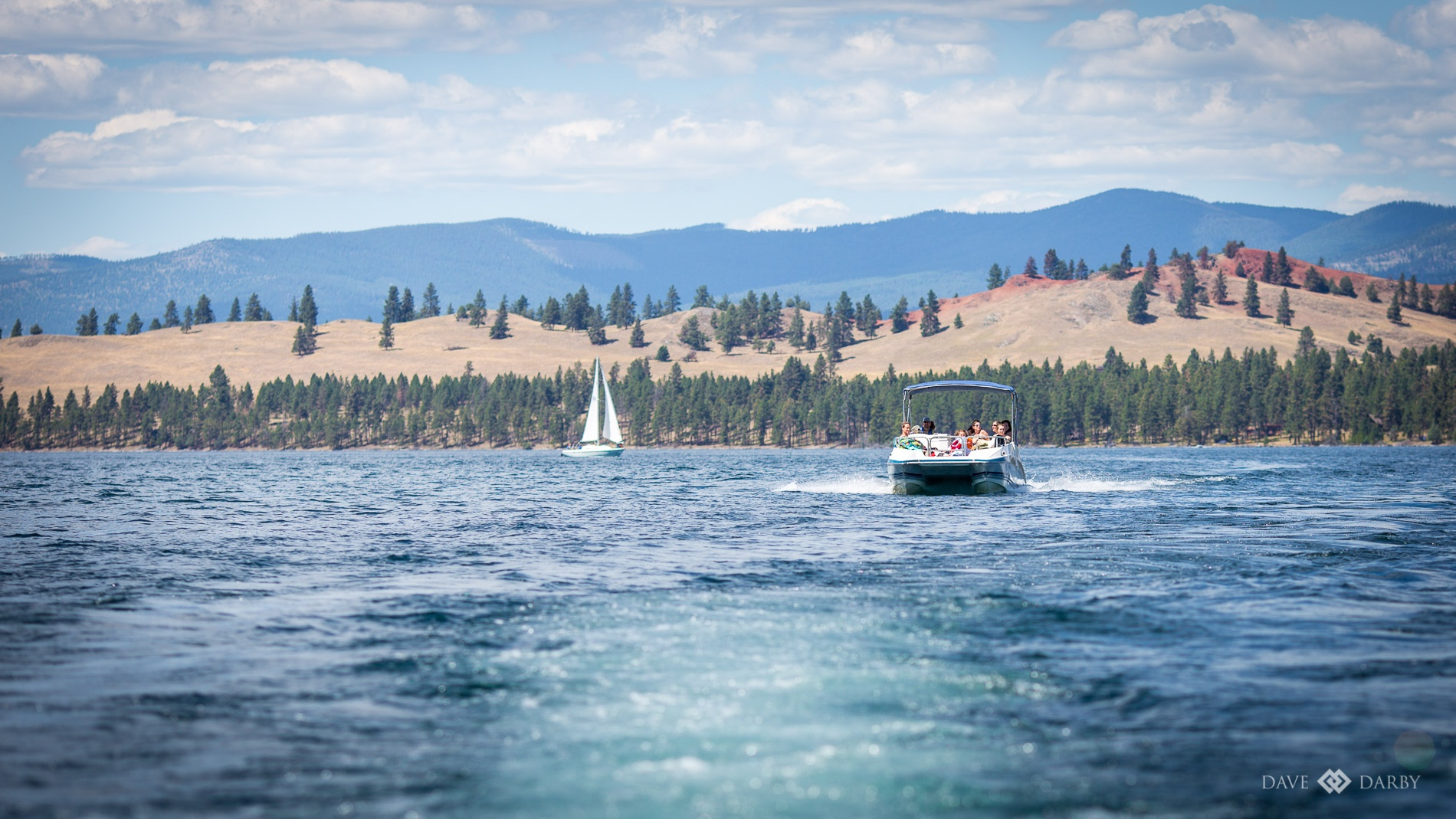 Summer Swimming at Flathead Lake