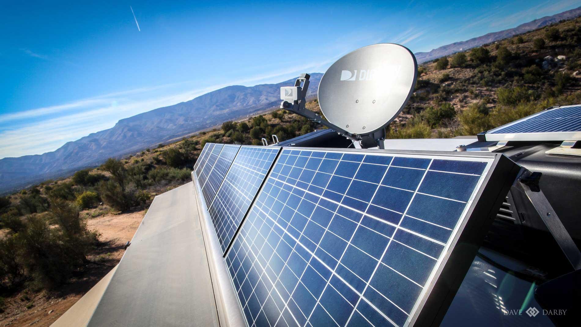 RV Wild Camping on Solar